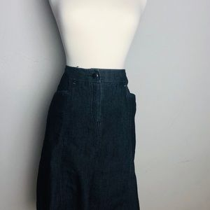 Sandro Grey  Skirt with distressing Size 10